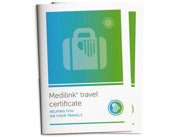 Medilink® Travel Certificate & Documentation